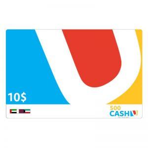 Cashu 500 Card - 10$ e-Voucher